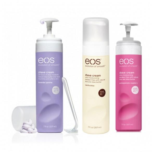 EOS Shave Cream Crema para Depilar aplicación húmeda o seca