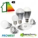 Bombillo Led 5W Blanco Frío ProWest ahorro y control hasta 85% de energía rosca E27