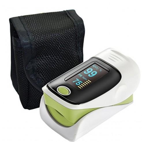 Pulso Oxímetro de dedo mide saturación de Oxígeno SPO2 ritmo cardiaco
