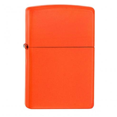 Encendedor Zippo Colors Neon Orange - Naranja