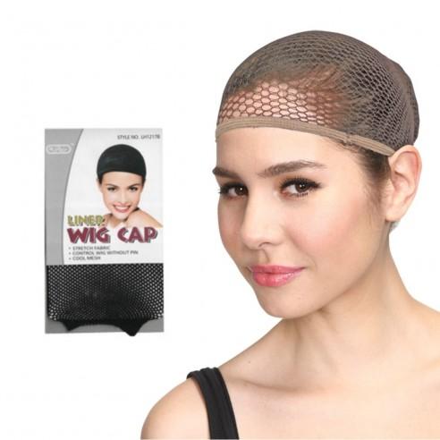 Capa para cabello ideal para usar con pelucas o gorros