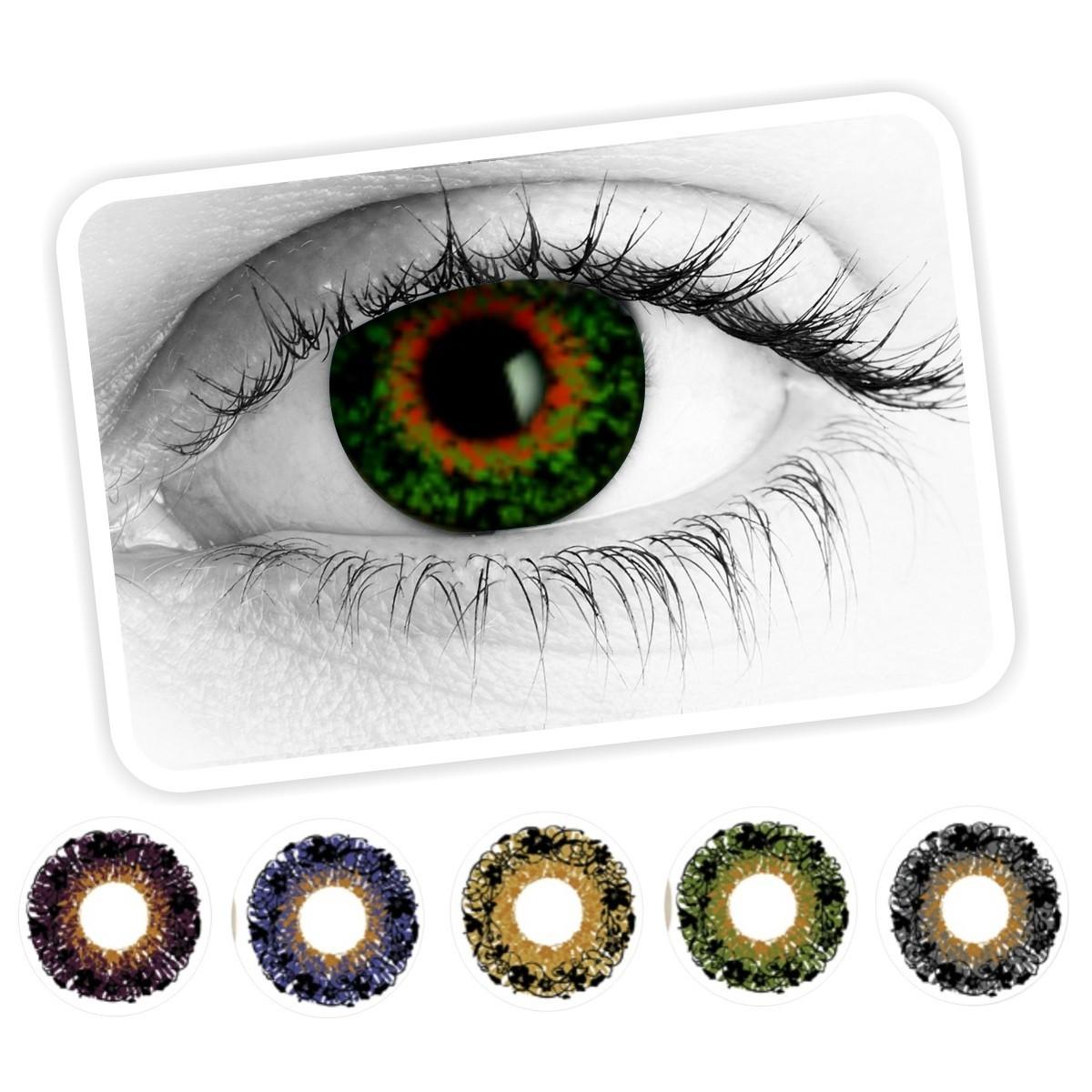 83aa52b950 Lentes de Contacto Azalea para uso cosmético en forma de flor