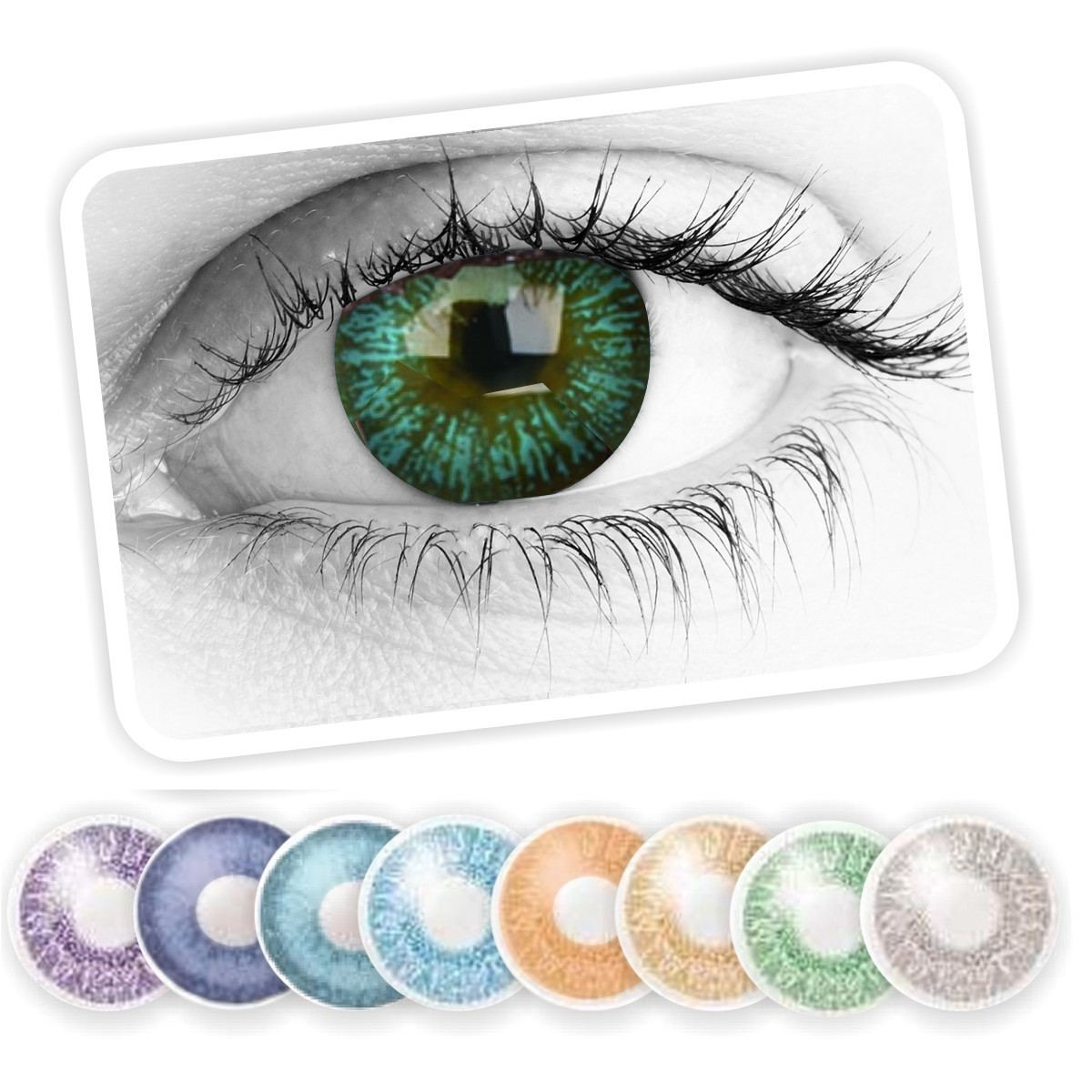 79d233592b Lentes de Contacto Cosméticos de Colores Color Maker