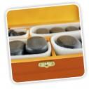36 Piedras volcánicas Calientes De Basalto
