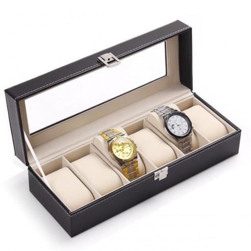 Caja Organizador para 6 relojes