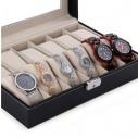 Caja organizadora para 12 relojes