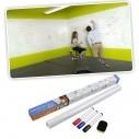 Pizarra blanca sticker de vinilo para decoración + Plumón