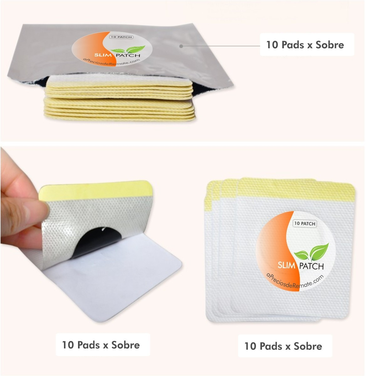 parches para adelgazar slim patch como se usan