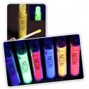 Labial Glossy UV glow brillo para labios brilla con la luz negra