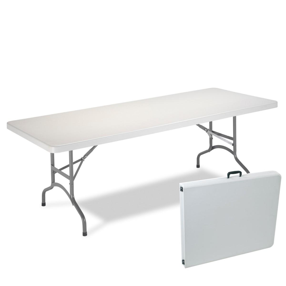 Mesa plegable tipo maleta de 1 8 mts portatil ideal para - Mesa para portatil ikea ...