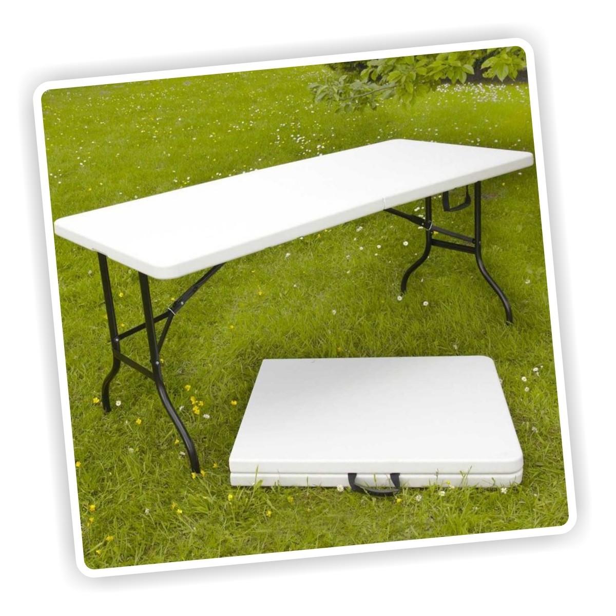 Mesa plegable tipo maleta de 1 8 mts portatil ideal para for Mesa plegable maleta