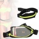 Correa deportistas Cinturón con Bolsillo canguro para celular Running Bumbana