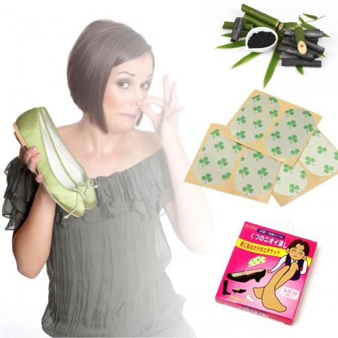 Parches Desodorantes Para Calzado buen olor en tus zapatos Ja Ron