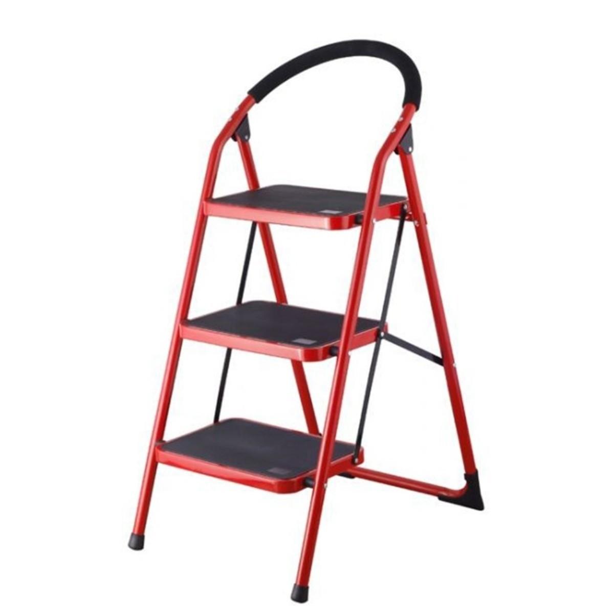 escalera de 3 niveles silla port til multiuso y plegable 150kg