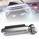 Barra Luz Led para Autos Tunning turbina fácil de colocar, sin cables , ni tornillos
