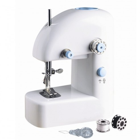 Máquina de Coser Portátil Mini Sewing Machine