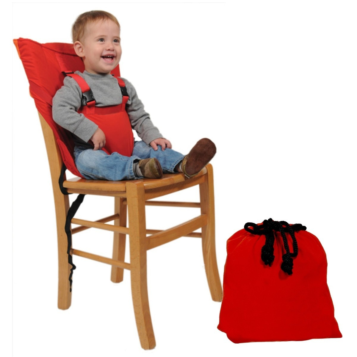 Silla port til para beb s y ni os de 1 a 5a os bolso for Sillas para comer ninos 3 anos