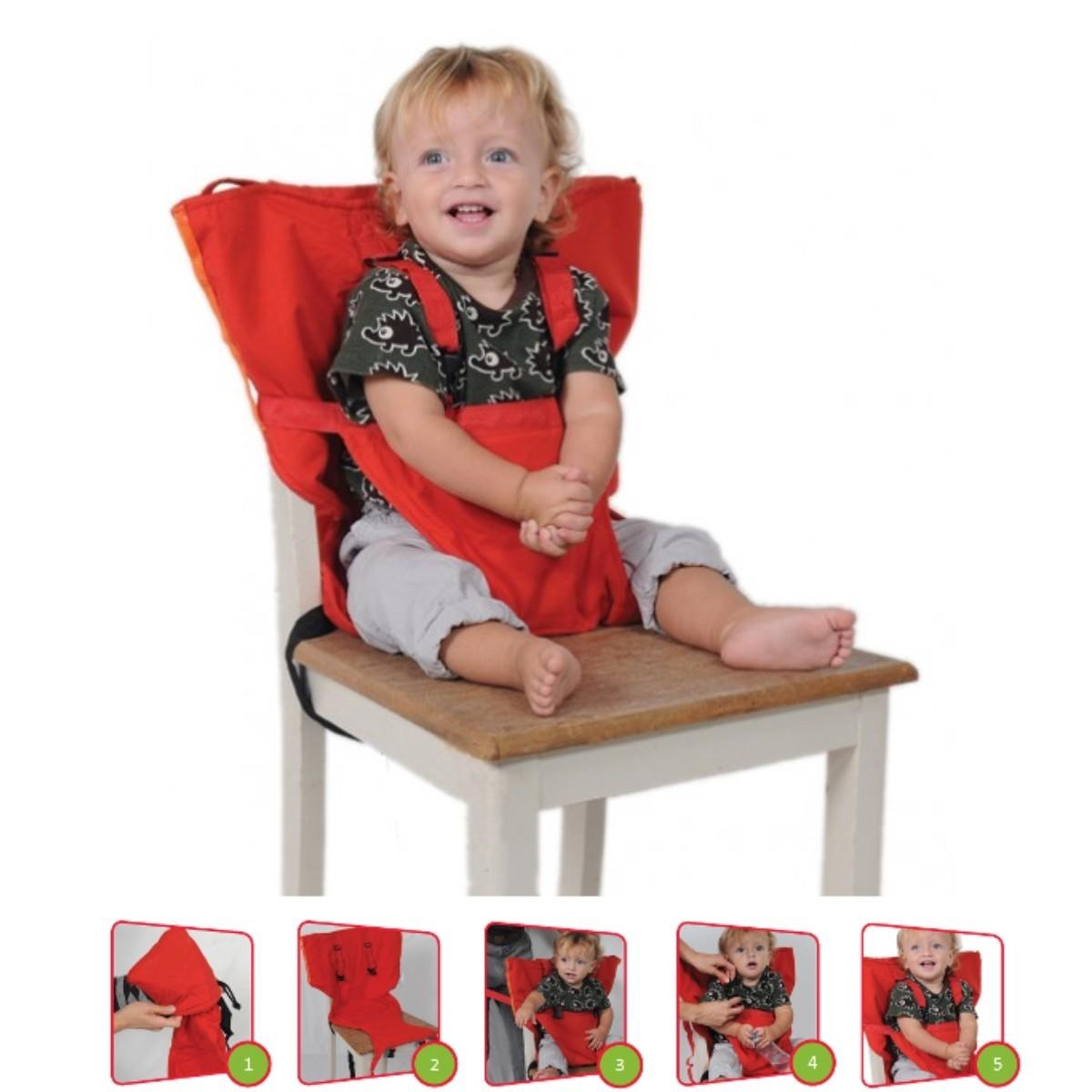Silla port til para beb s y ni os de 1 a 5a os bolso for Silla para coche nino 4 anos