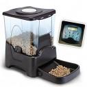 Dispensador Automático y programable de alimentos para mascotas