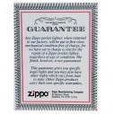 Encendedor Zippo Texture Red Flame - Plateado.