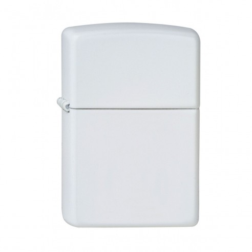 Encendedor Zippo Colors White Matte -Blanco
