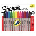 Sharpie Brush Punta Pincel Marcador Permanente (12 unidades)
