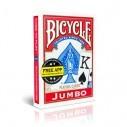 Juego de Cartas Bicycle Jumbo Index Especial para personas con visión reducida