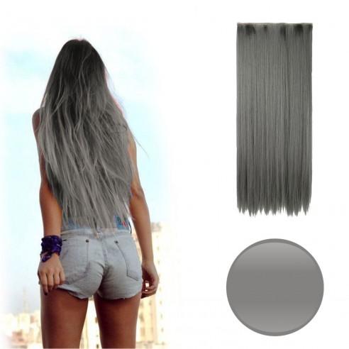 Extension Lisa Unicolor Cosplay tipo Cortina de cabello Eventos Fiesta