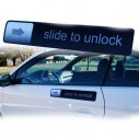 Magnetico Slide to Unlook de Iphone Tunning para carro personaliza iphone