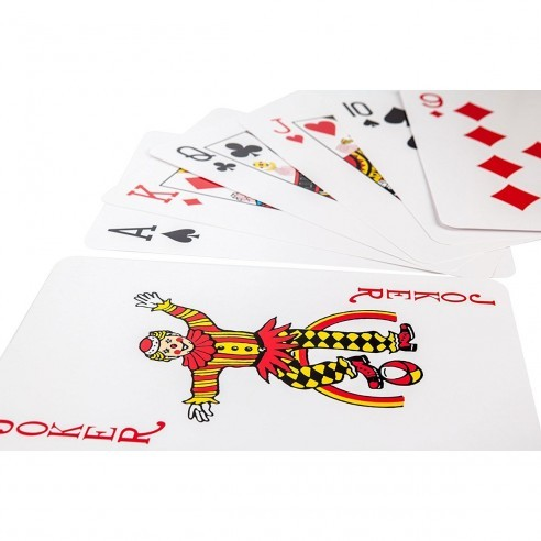 Cartas Pocker Tamaño Jumbo 12X5