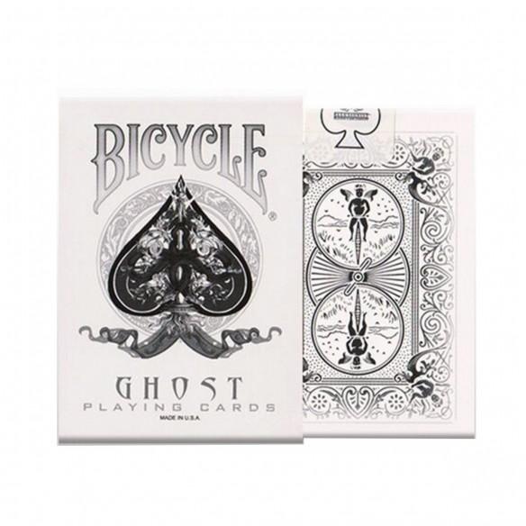 Juego de Cartas White Ghost segunda Edición Cards Baraja Pocker importadas