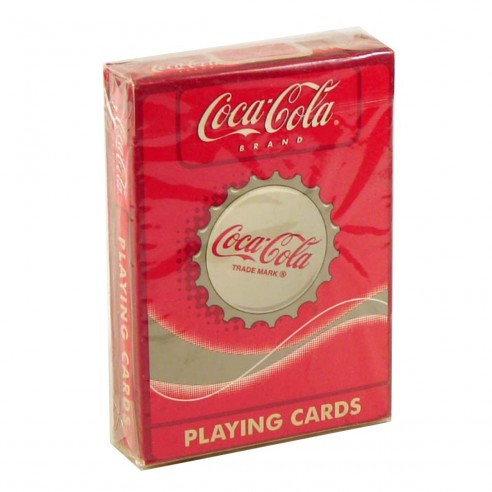 Juego de Cartas Coca Cola Playing Cards Baraja Pocker importadas