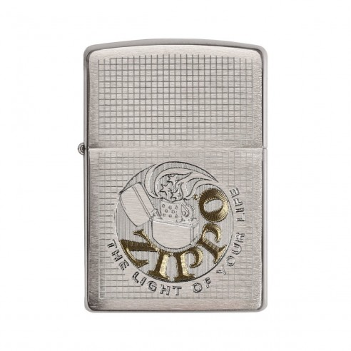 Encendedor Zippo Texture Light Of Your Life