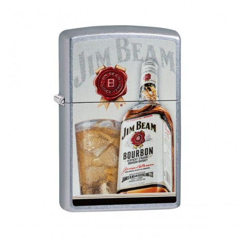 Encendedores Zippo Stamp Jim Beam Bottle Bourbon