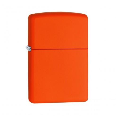 Encendedor Zippo Colors Orange Matte- Naranja.