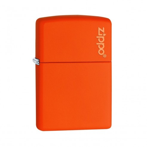 Encendedor Zippo Colors Logo Orange