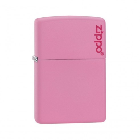 Encendedor Zippo Colors Logo Pink