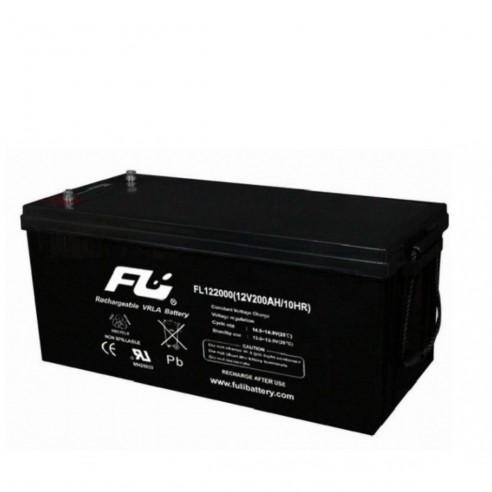Batería Sellada FuliBattery 12V-200AH Ref. FL122000GS