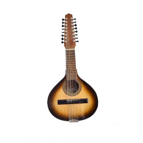 Bandola Natural de 16 cuerdas Instrumento Típico