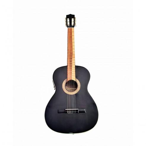 Guitarra Electroacústica Premiun Negra
