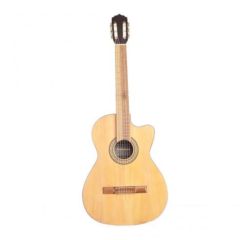 Guitarra Acústica de Estudio Premiun en Pino Ciprés