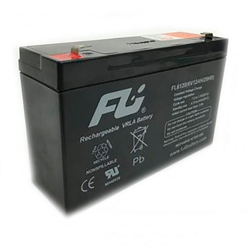 Batería Sellada FuliBattery 6V-12AH ref. FL6120GS