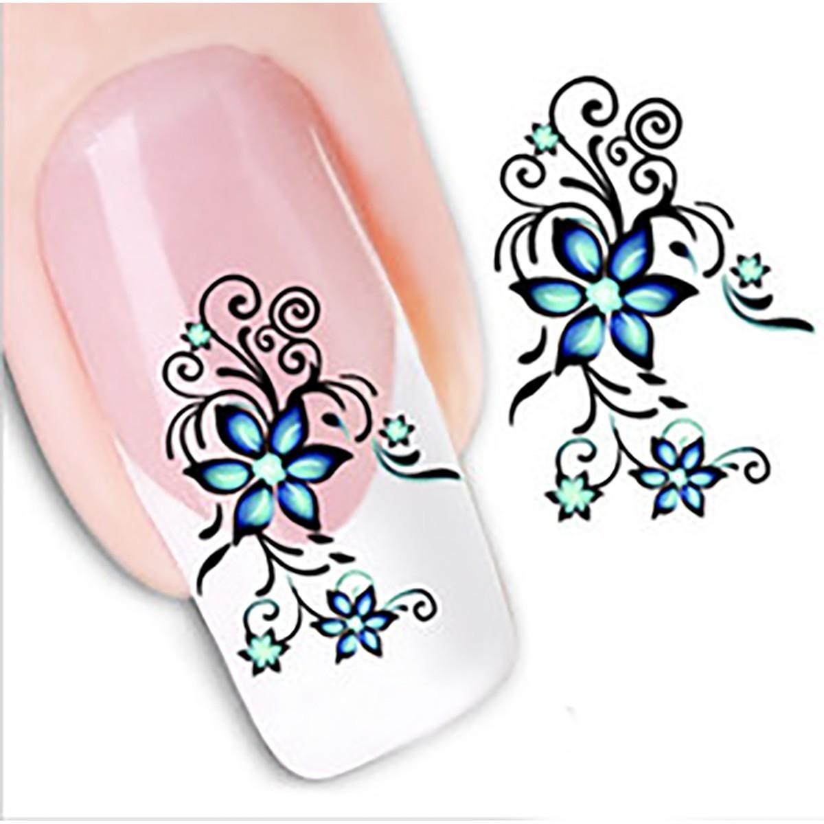Kit de tatto mariposas para u as stickers al algua nail for Mariposas de decoracion para pared