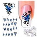 Kit Tatto para uñas stickers al algua Nail Art