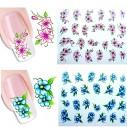 Kit Tatto para uñas stickers al algua Nail Art