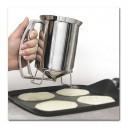 Dosificador Metálico para mezclas pancake Handy Gourmet Pancake Batter Dispenser