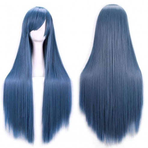 Peluca de Kanekalon Lisa 100 Cm Cosplay 1mt larga