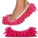 Zapatos de microfibra Limpia y policha proteje tu piso