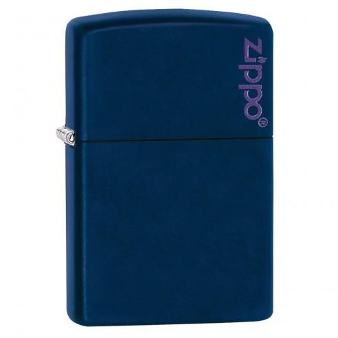 Encendedor Zippo Colors Navy Blue con Logo 239ZL - Azul