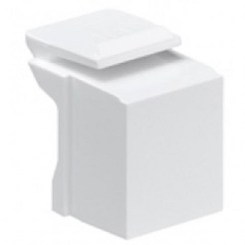 Tapa Espacios de Face plate para redes Blanco (paq x10)